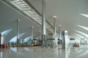 Dubai Airport Ceilings