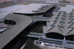 Kuala Lumpur Airport Roof